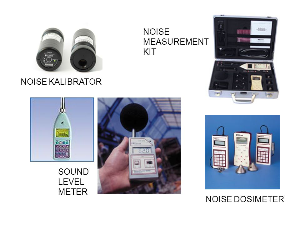 NOISE MEASUREMENT KIT NOISE KALIBRATOR SOUND LEVEL METER NOISE DOSIMETER