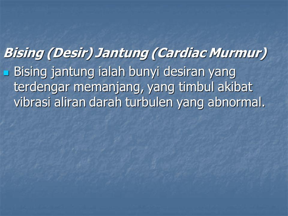 Bising (Desir) Jantung (Cardiac Murmur)