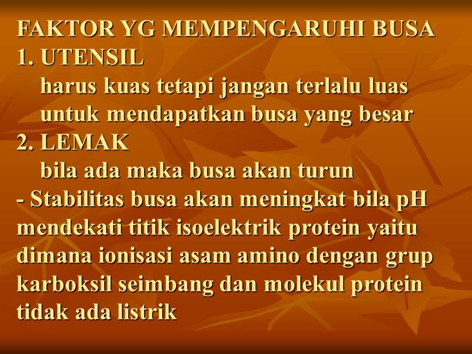 FAKTOR YG MEMPENGARUHI BUSA 1
