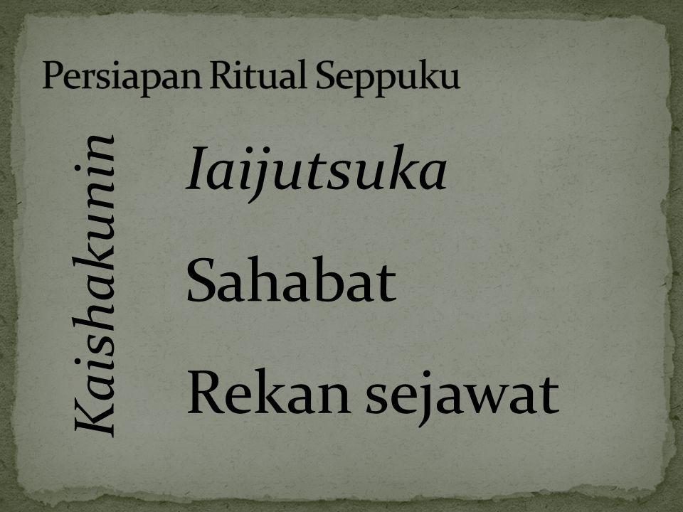 Persiapan Ritual Seppuku