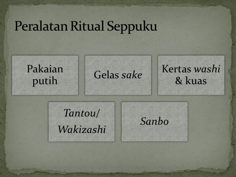 Peralatan Ritual Seppuku