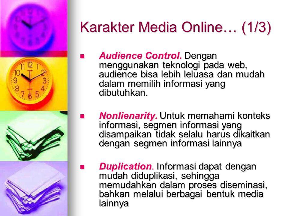 Karakter Media Online… (1/3)