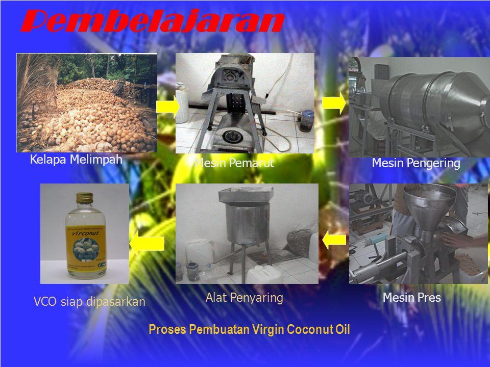 Pembelajaran Proses Pembuatan Virgin Coconut Oil Kelapa Melimpah