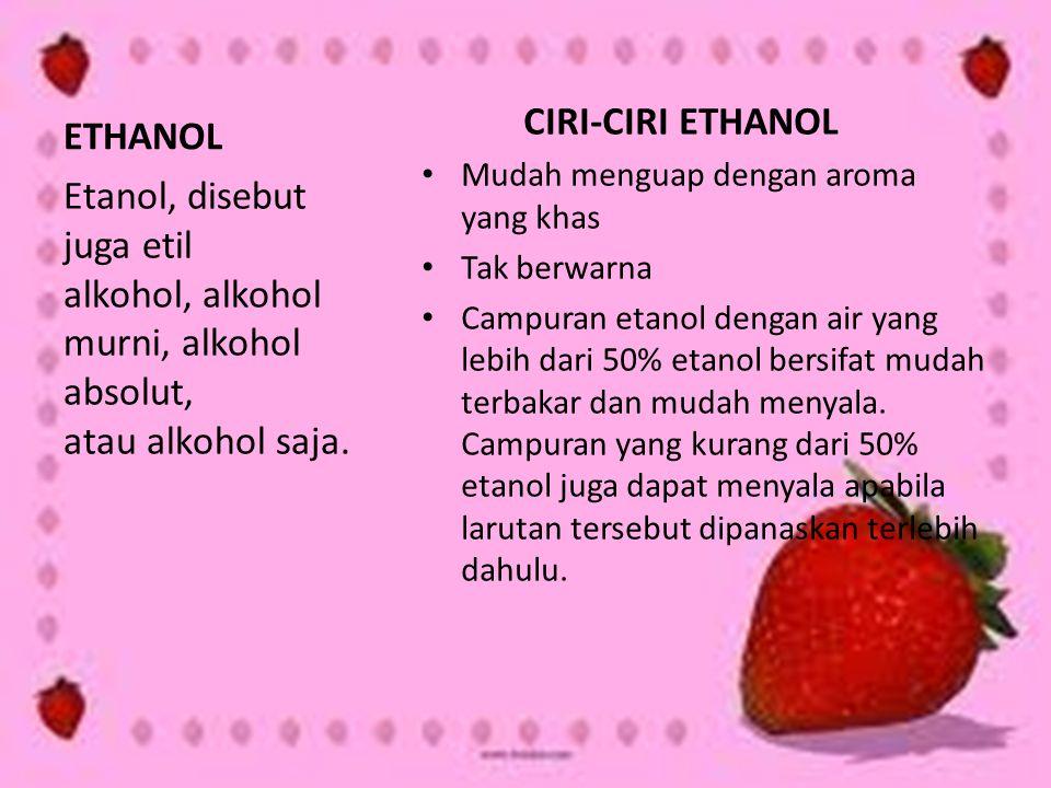 CIRI-CIRI ETHANOL ETHANOL