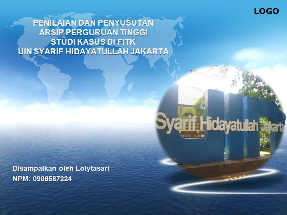 Disampaikan oleh Lolytasari NPM: 0906587224
