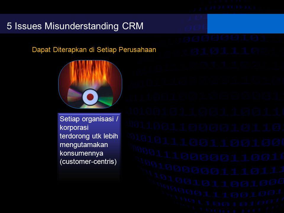 5 Issues Misunderstanding CRM