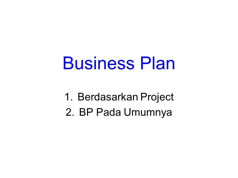 Berdasarkan Project BP Pada Umumnya