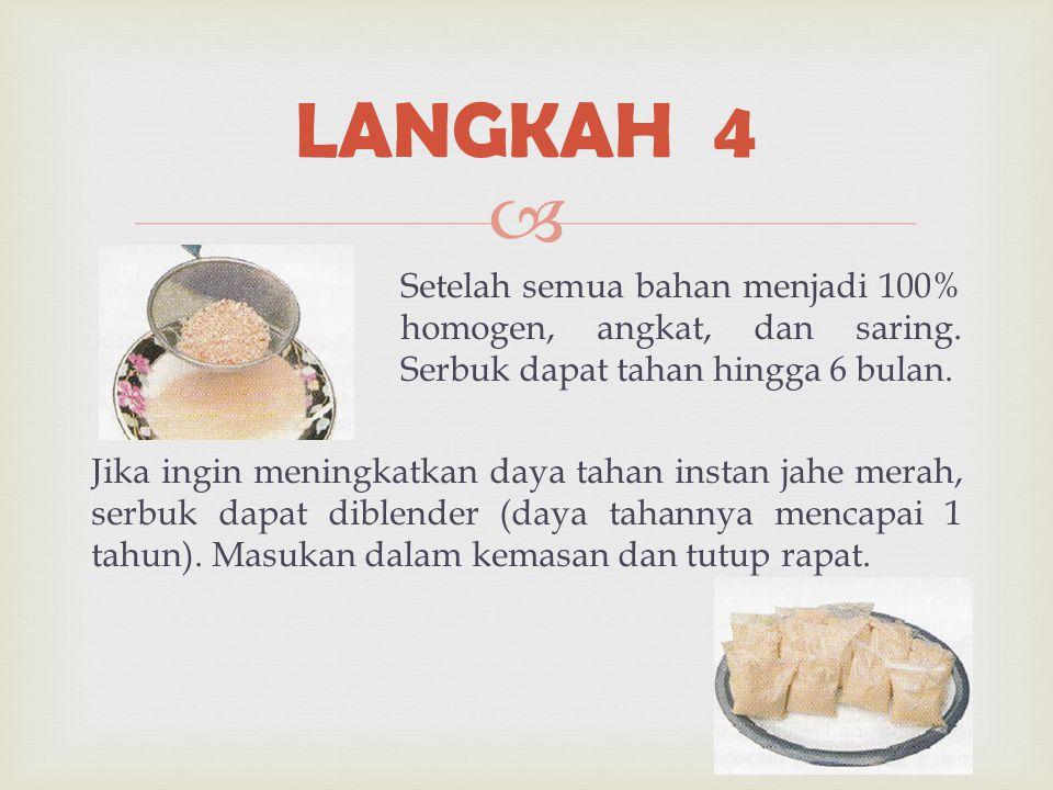 LANGKAH 4