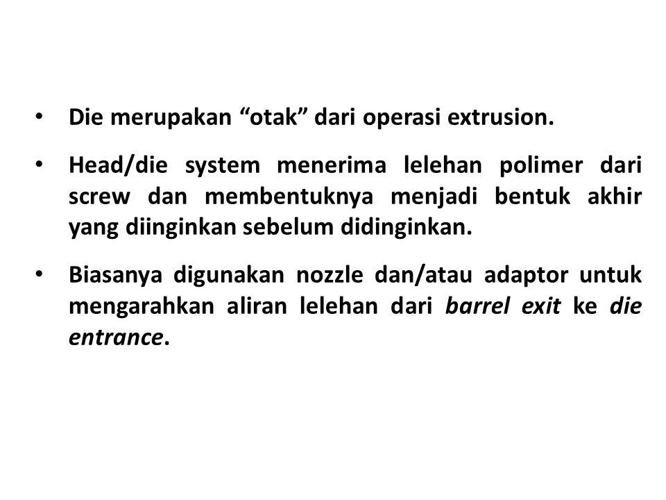 Die merupakan otak dari operasi extrusion.