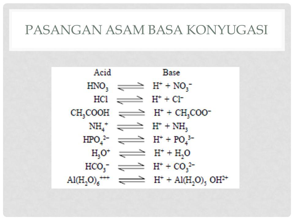 Pasangan asam basa konyugasi
