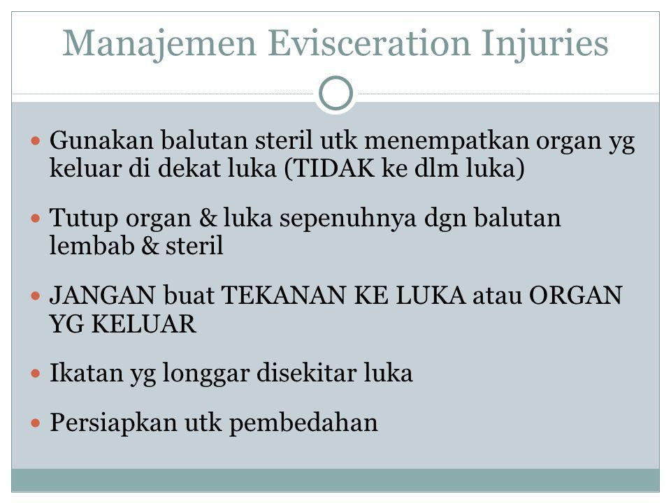Manajemen Evisceration Injuries
