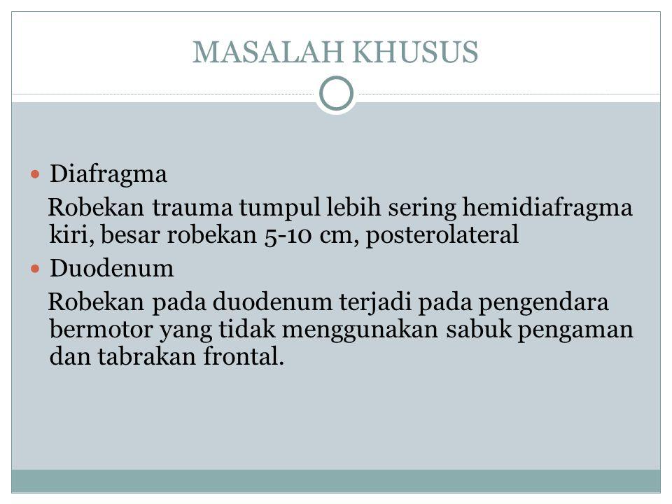 MASALAH KHUSUS Diafragma