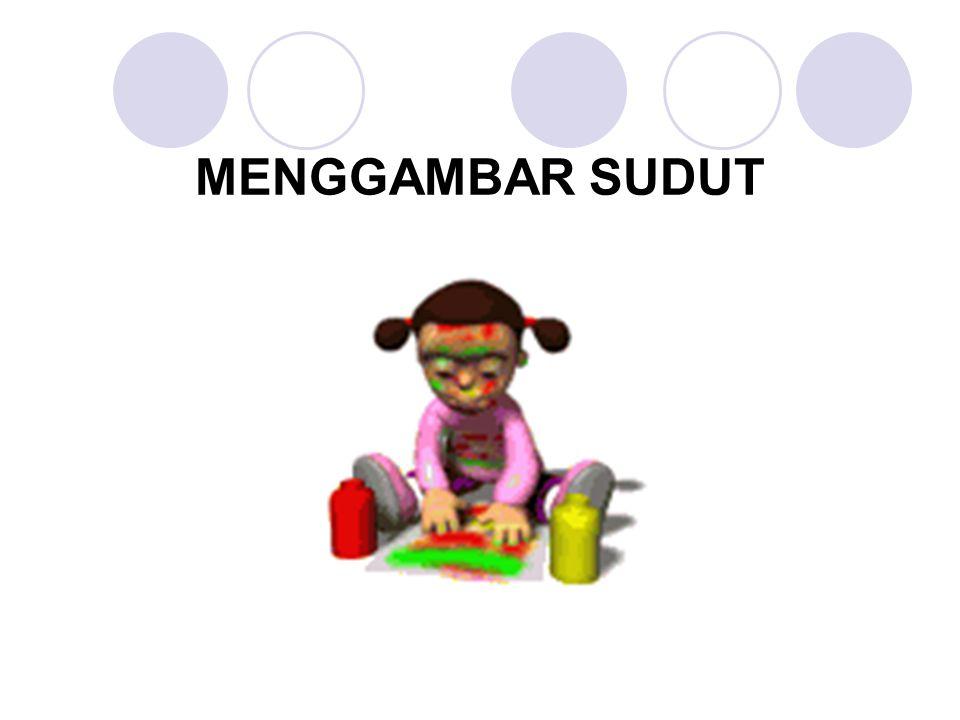 MENGGAMBAR SUDUT