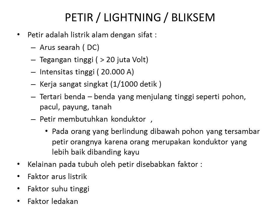 PETIR / LIGHTNING / BLIKSEM