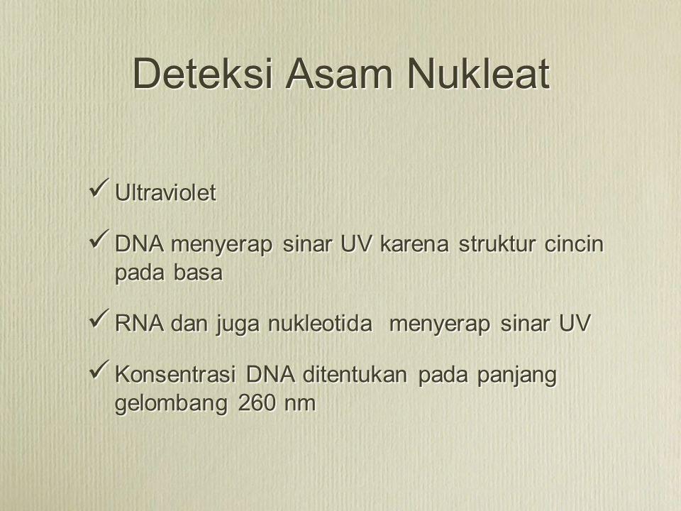 Deteksi Asam Nukleat Ultraviolet