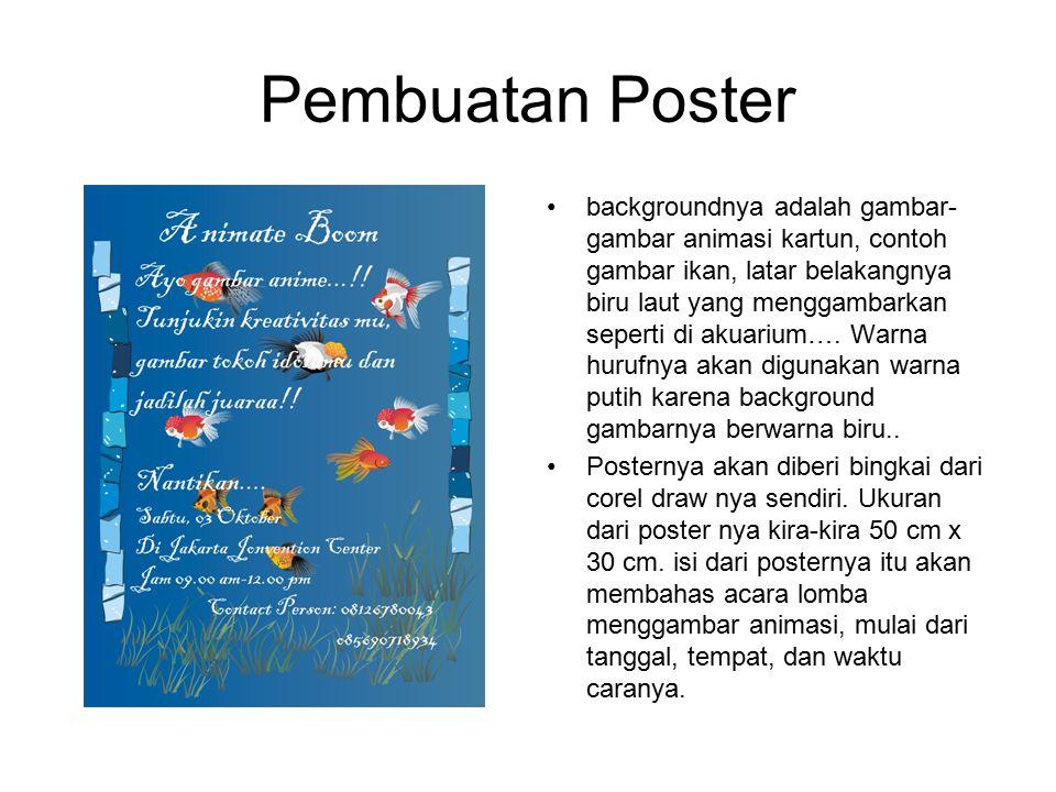 Pembuatan Poster