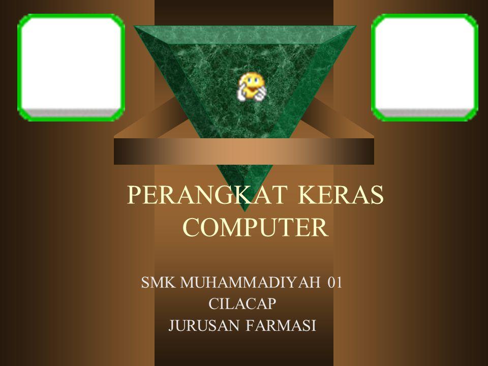 PERANGKAT KERAS COMPUTER