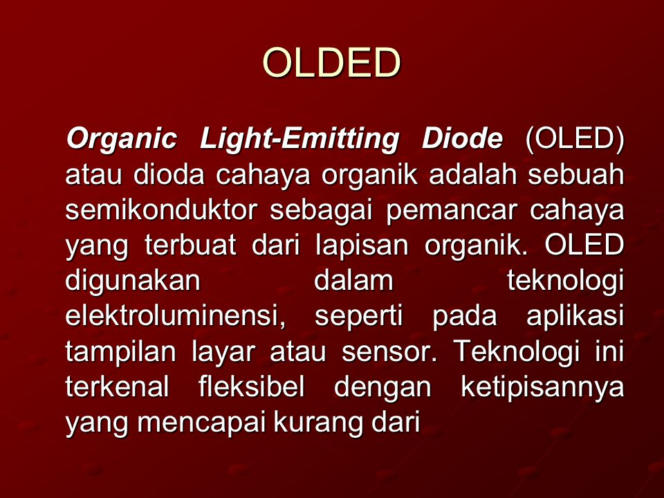 OLDED