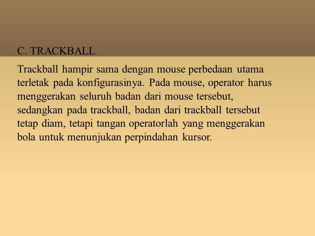 C. TRACKBALL