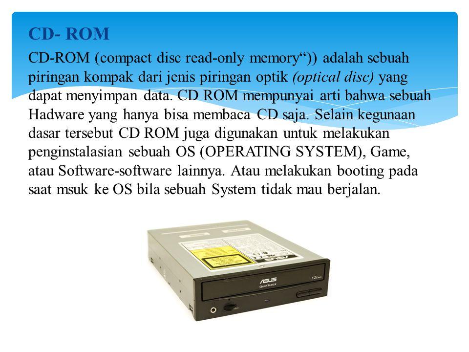 CD- ROM