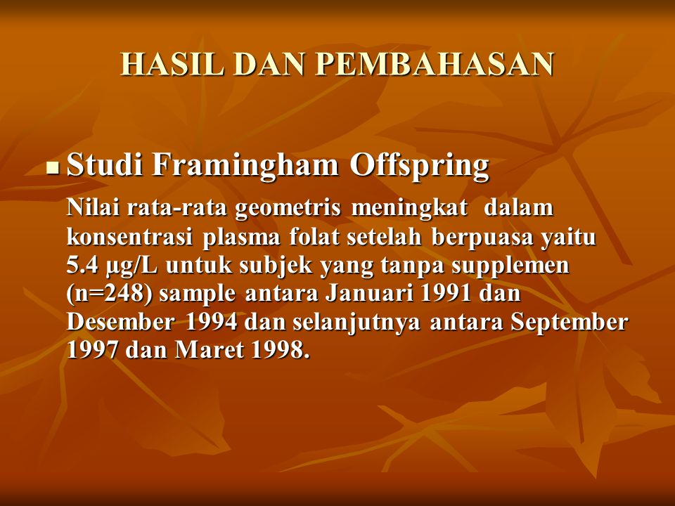 Studi Framingham Offspring