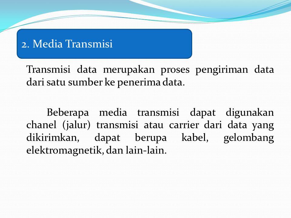2. Media Transmisi