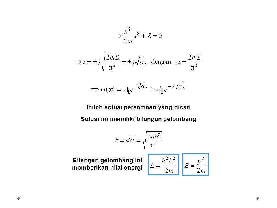 Inilah solusi persamaan yang dicari