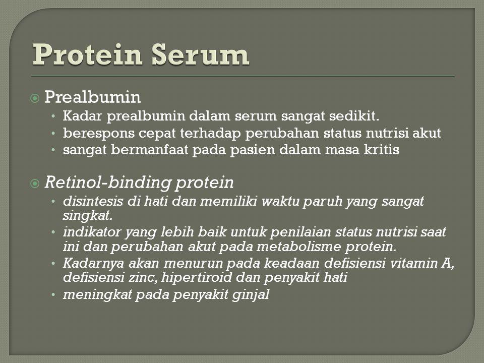 Protein Serum Prealbumin Retinol-binding protein