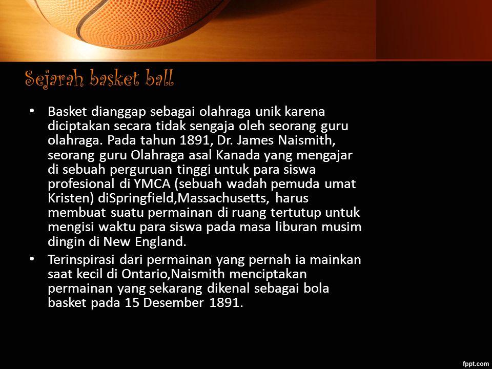 Sejarah basket ball