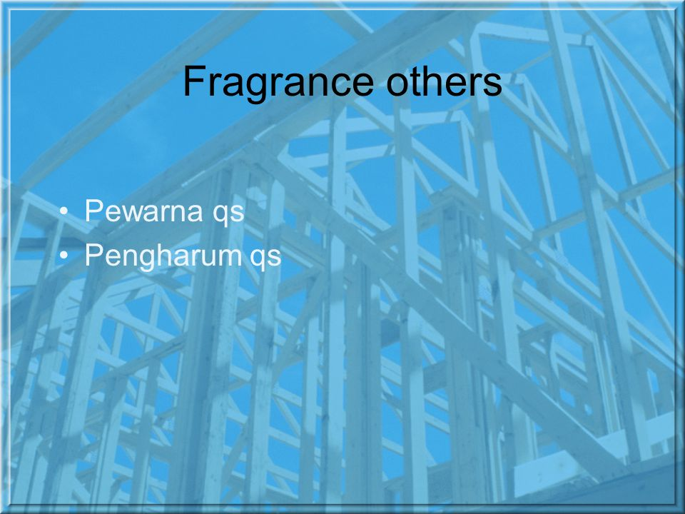 Fragrance others Pewarna qs Pengharum qs