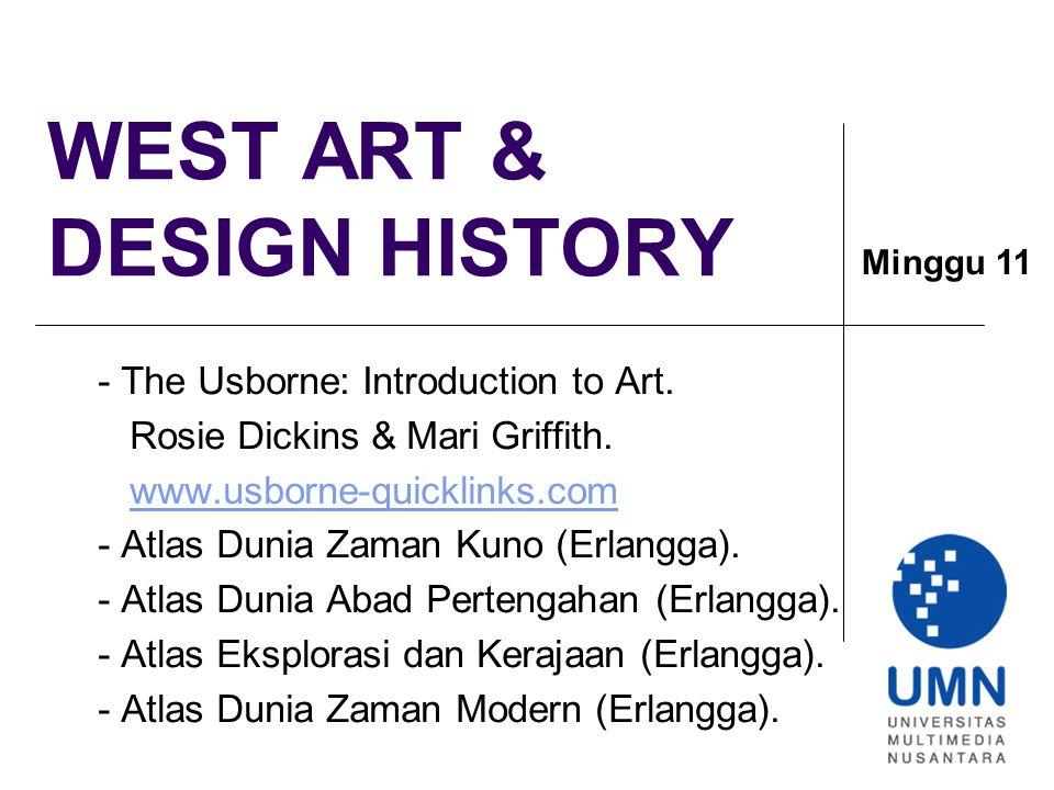 WEST ART & DESIGN HISTORY