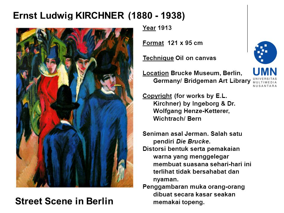 Ernst Ludwig KIRCHNER (1880 - 1938)
