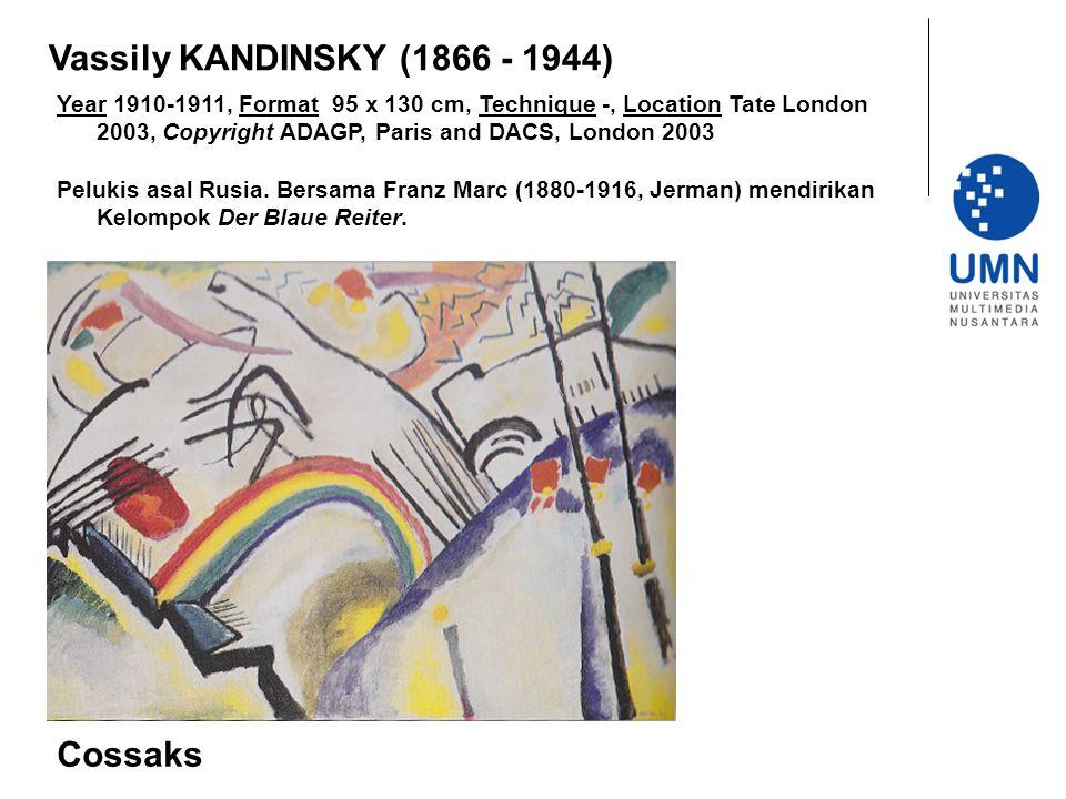 Vassily KANDINSKY (1866 - 1944) Cossaks
