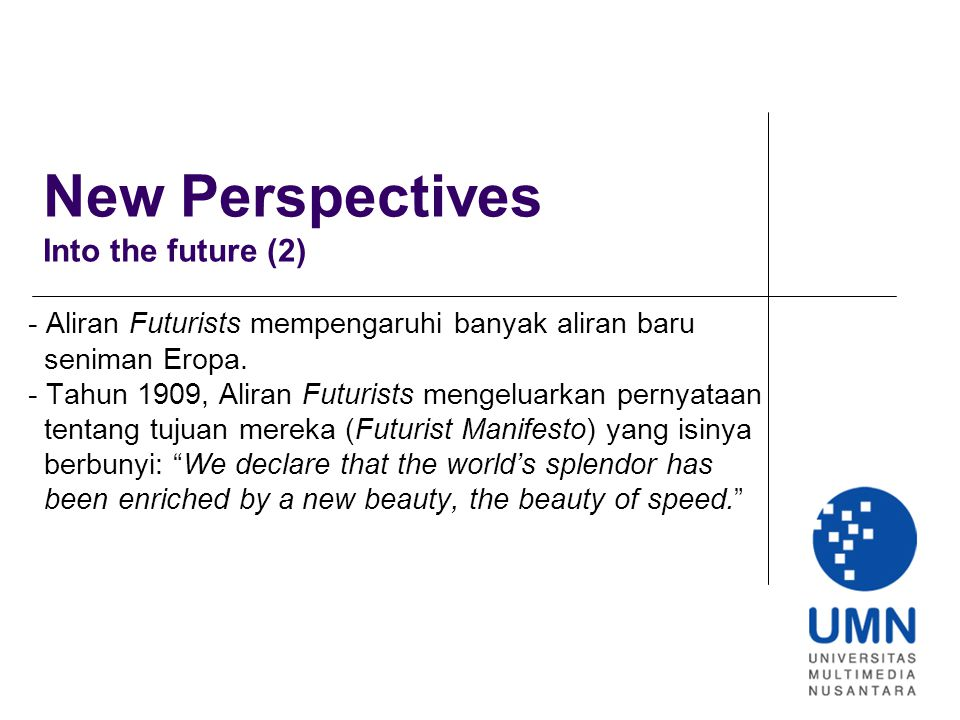 New Perspectives Into the future (2)