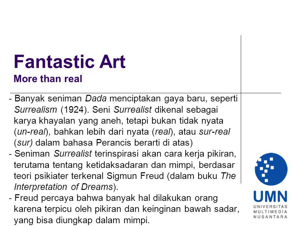 Fantastic Art More than real
