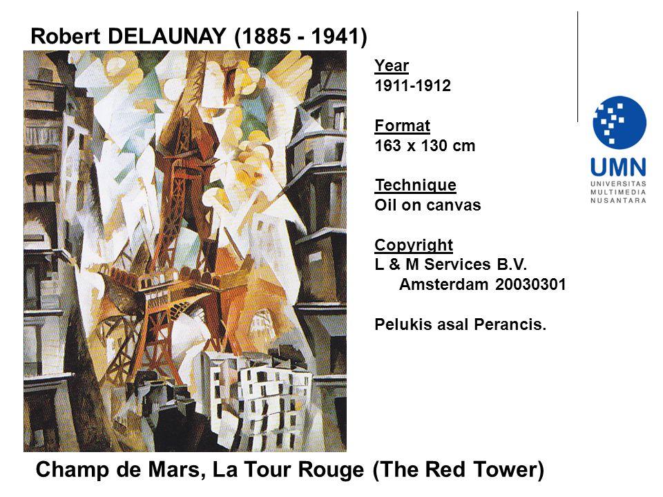 Champ de Mars, La Tour Rouge (The Red Tower)