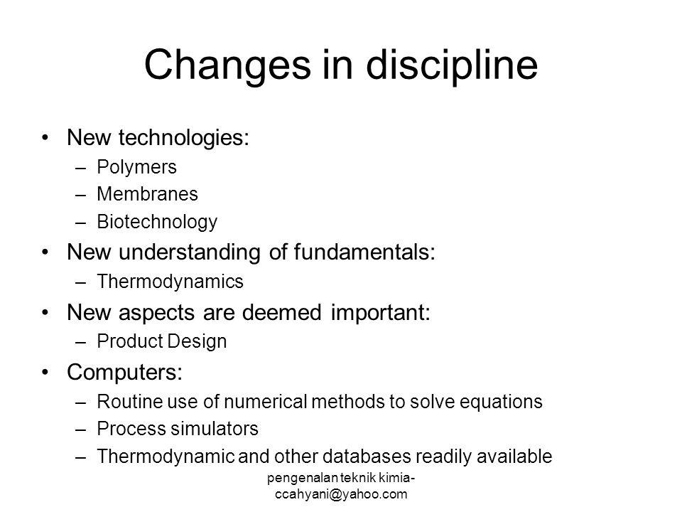 pengenalan teknik kimia- ccahyani@yahoo.com