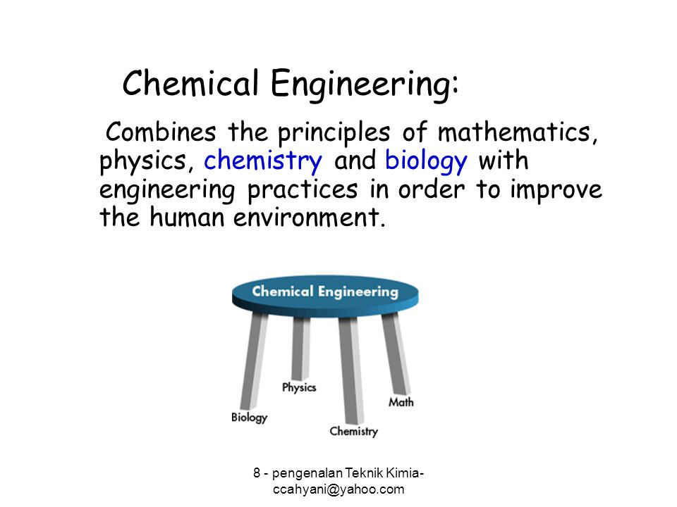 Chemical Engineering: