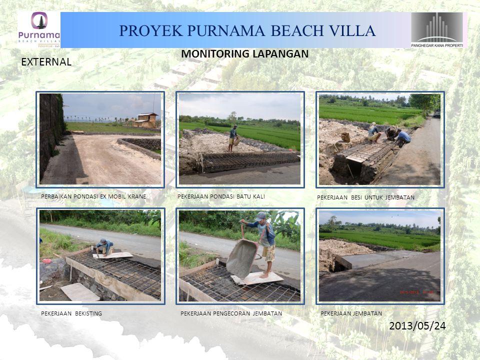 PROYEK PURNAMA BEACH VILLA