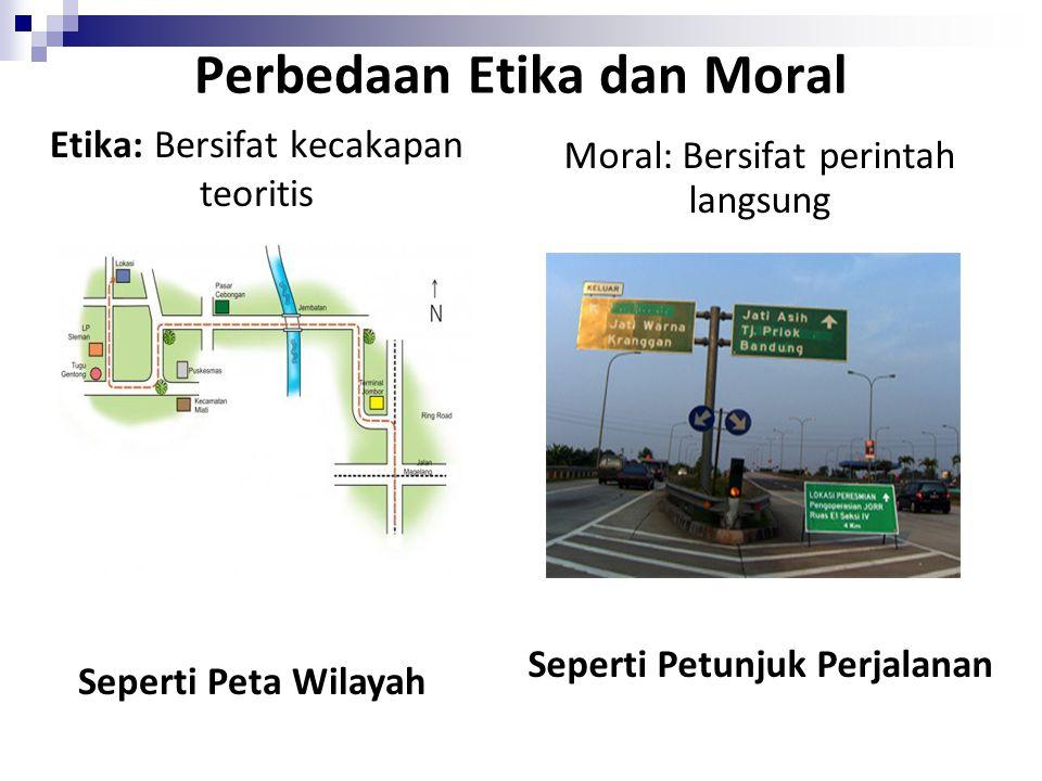 Perbedaan Etika dan Moral