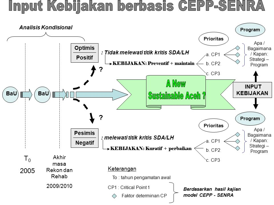Input Kebijakan berbasis CEPP-SENRA