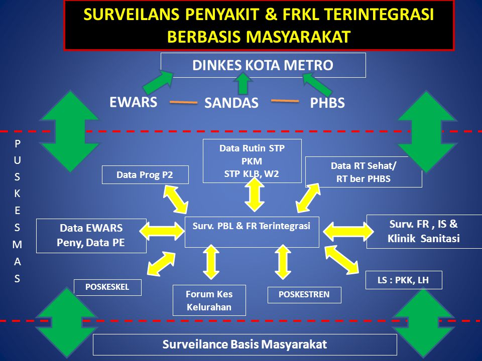 SURVEILANS PENYAKIT & FRKL TERINTEGRASI BERBASIS MASYARAKAT
