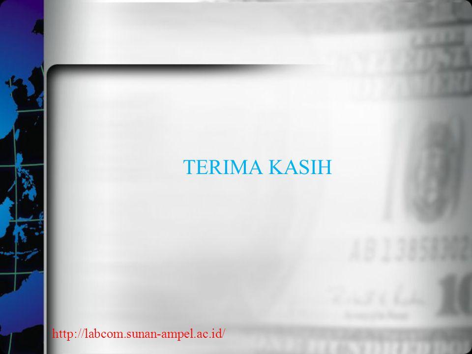 TERIMA KASIH http://labcom.sunan-ampel.ac.id/