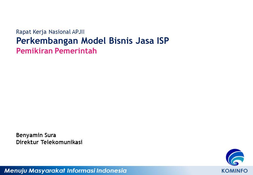 Perkembangan Model Bisnis Jasa ISP