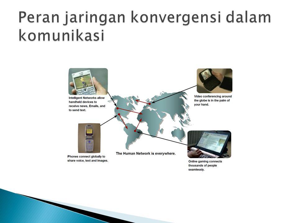 Peran jaringan konvergensi dalam komunikasi