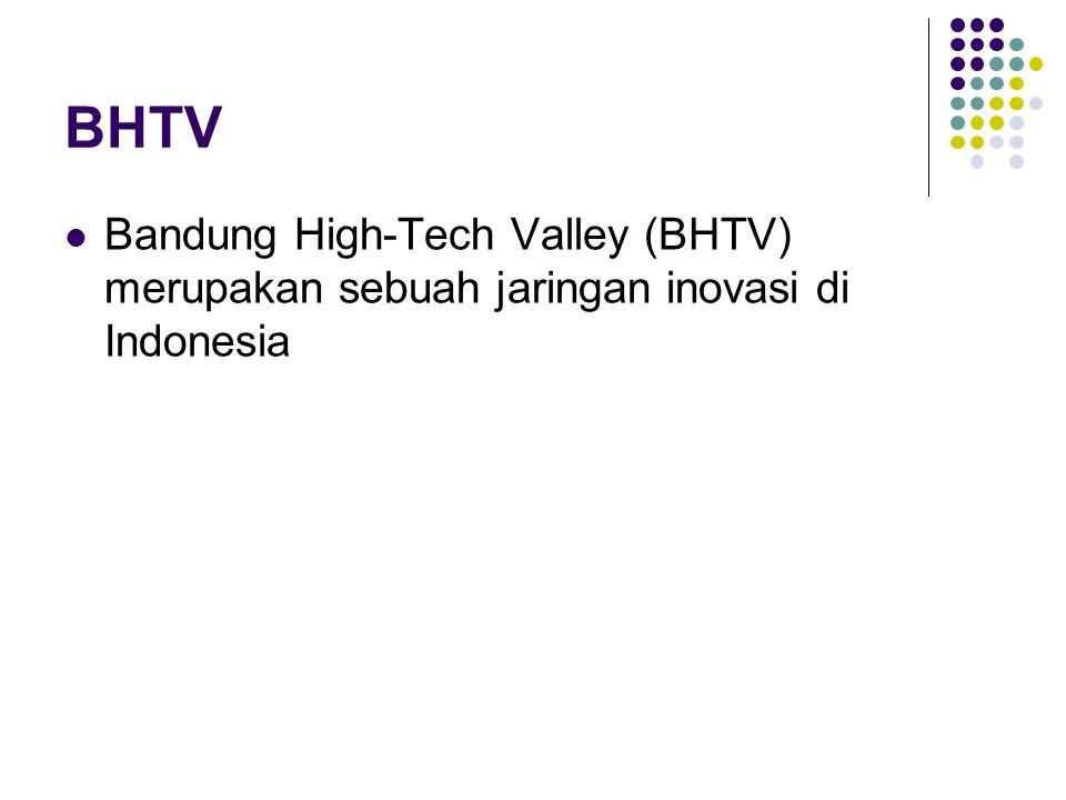 BHTV Bandung High-Tech Valley (BHTV) merupakan sebuah jaringan inovasi di Indonesia