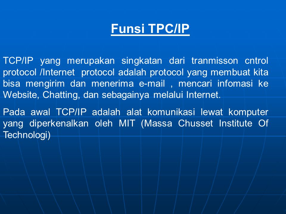 Funsi TPC/IP
