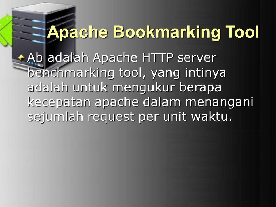 Apache Bookmarking Tool