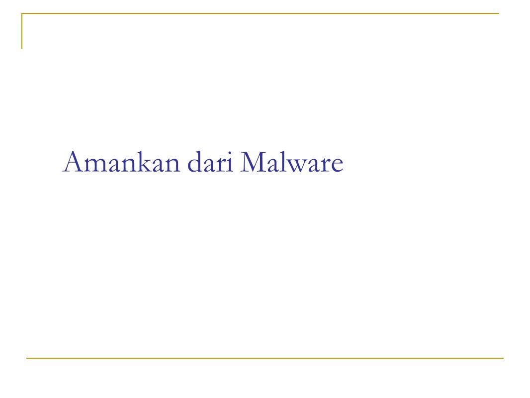 Amankan dari Malware