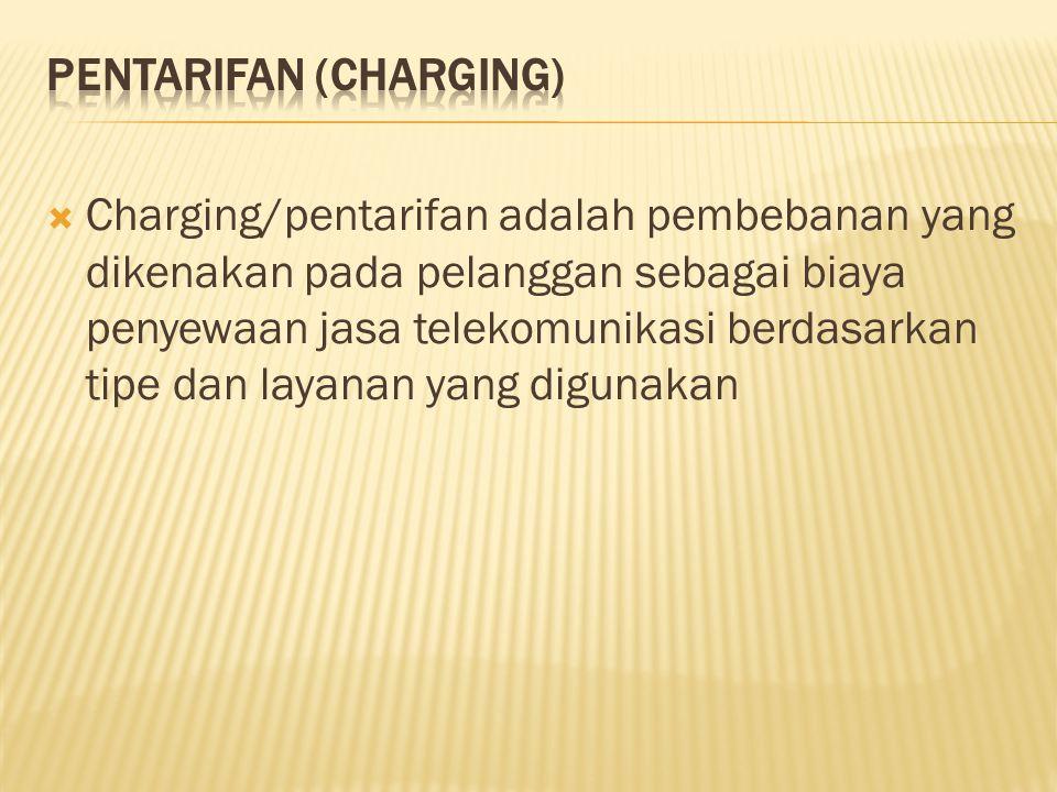 Pentarifan (Charging)